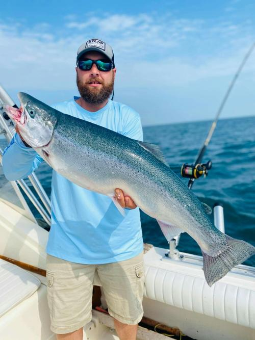 15-pound Lake Ontario steelhead