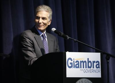 Joel Giambra at 2018 gubernatorial debate  (copy)