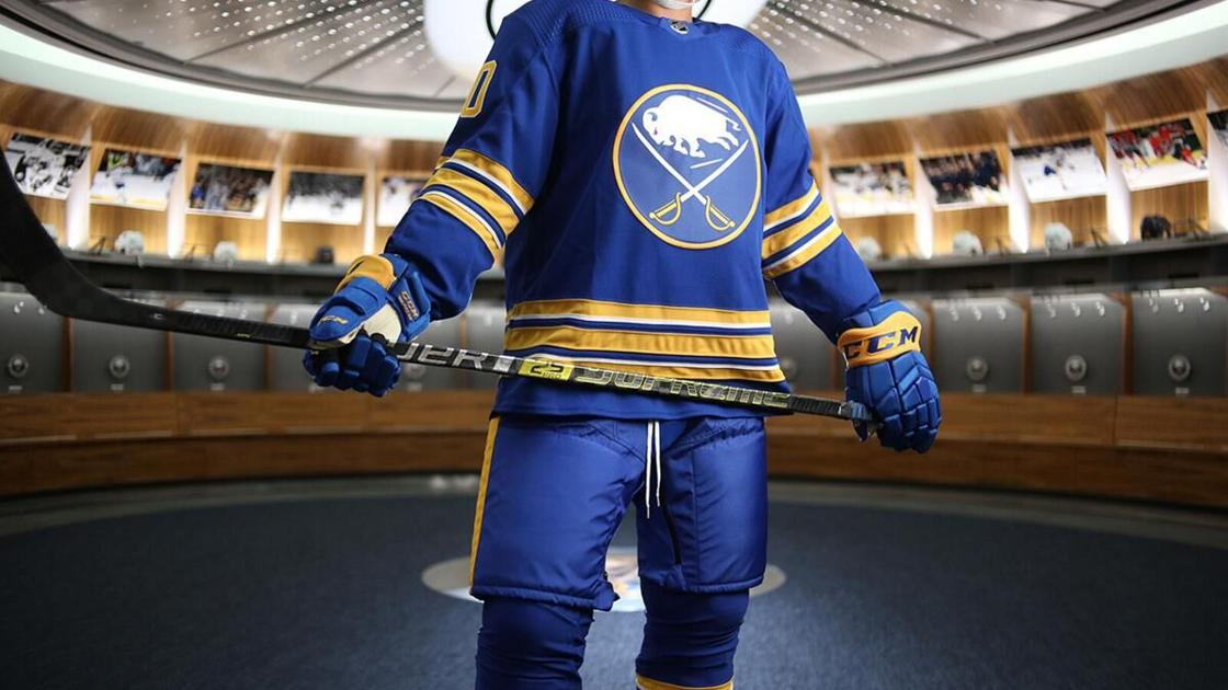 Sabres are ranked in the top 10 in NHL – in uniforms