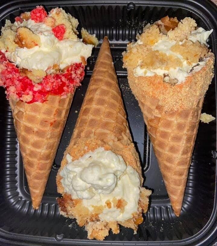 Dessert cones Desserts by Daia