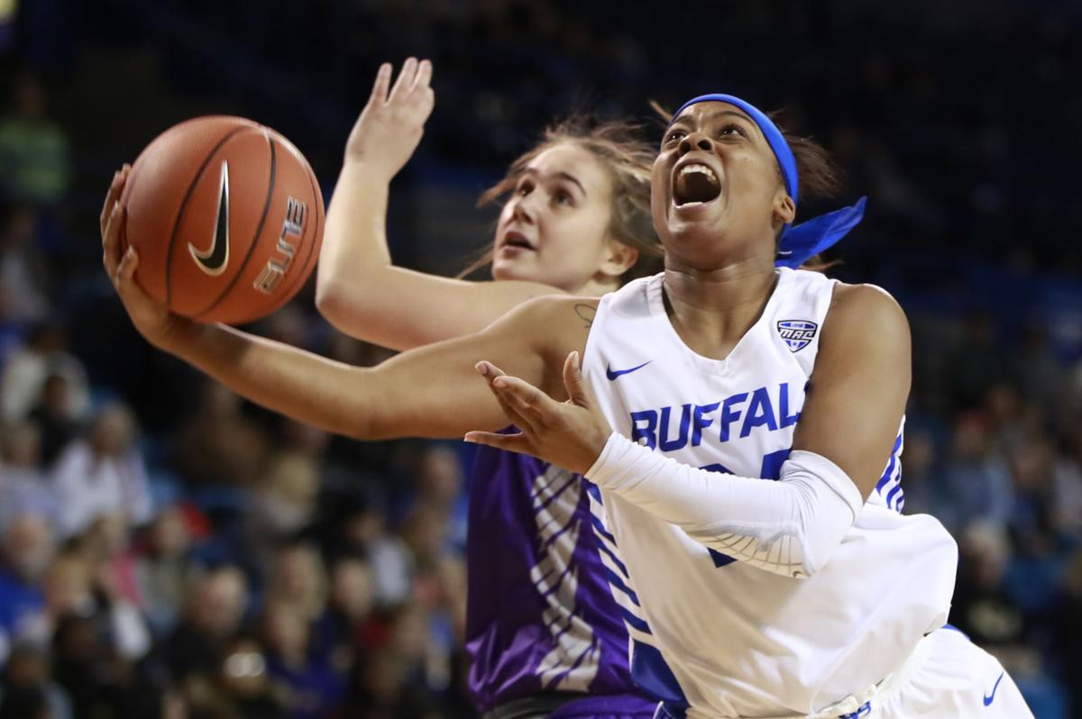 cierra dillard ub women's basketball