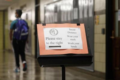 Covid-19 precautions remain Akron High School (copy)