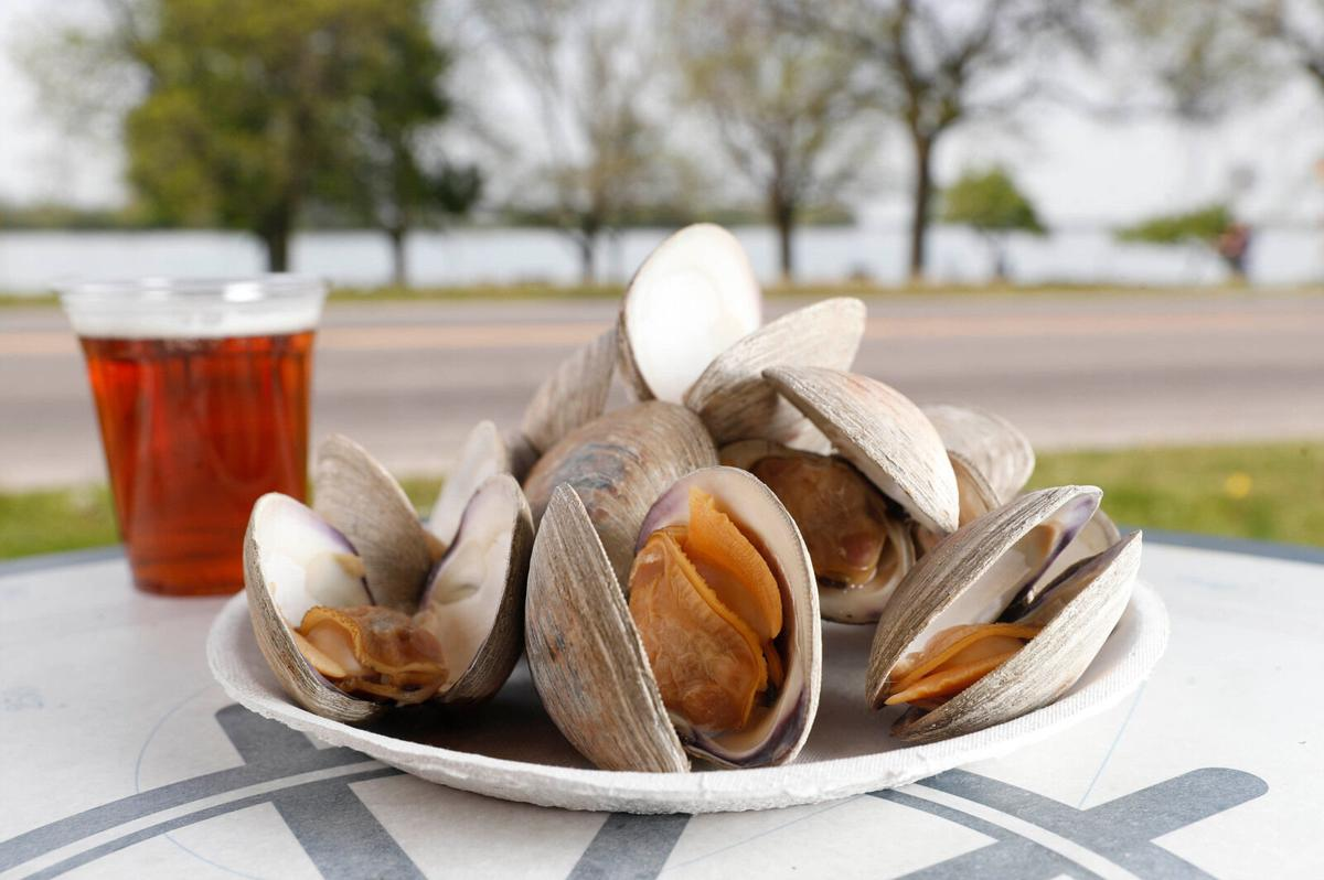 Old Man River clams (copy) outside