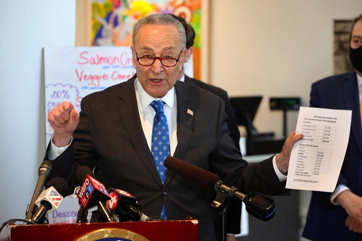 Schumer: Relief is on the way (copy) (copy)