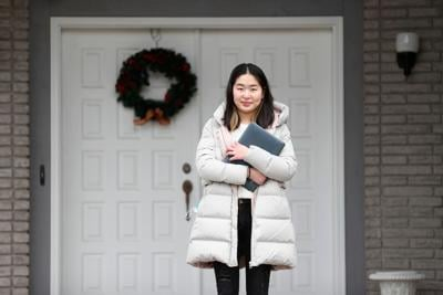 Student tutor Flora Chen