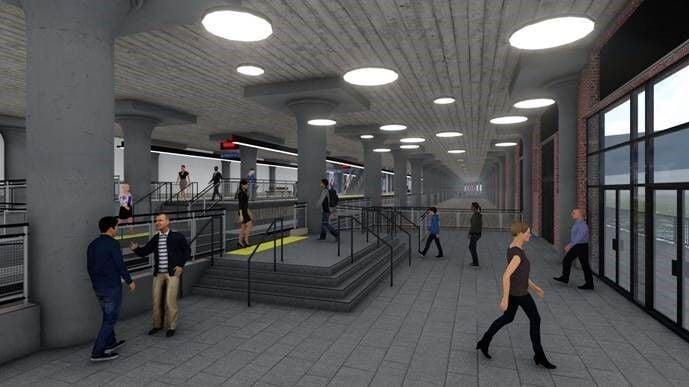DL&W rail station