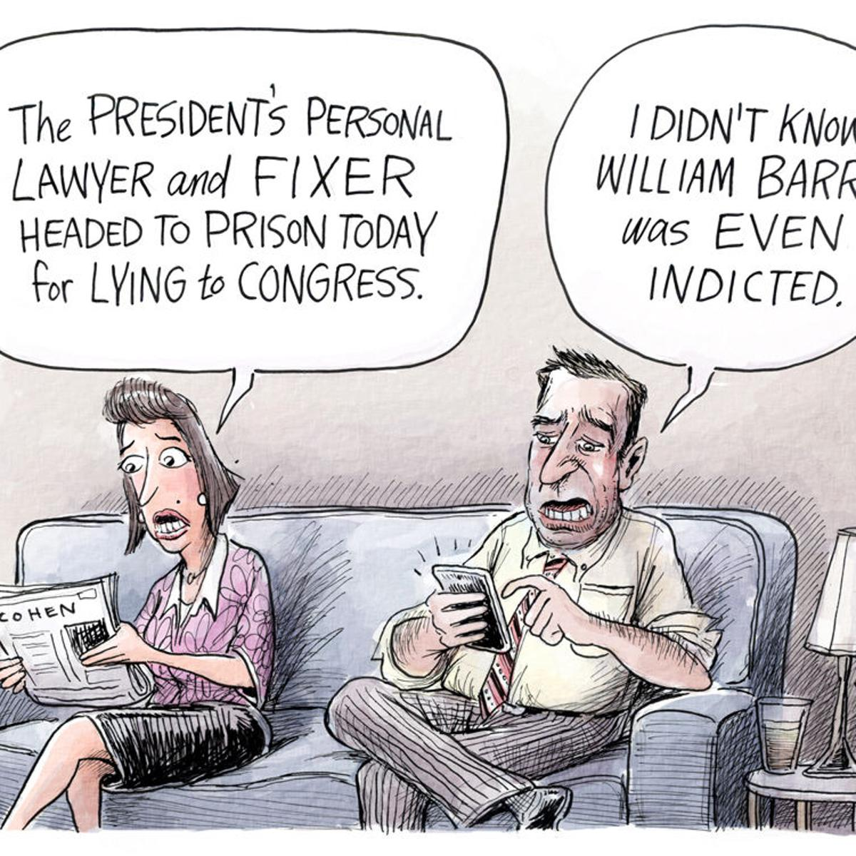 Adam Zyglis: The fixer | Opinion | buffalonews.com