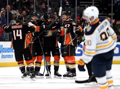 Buffalo Sabres v Anaheim Ducks