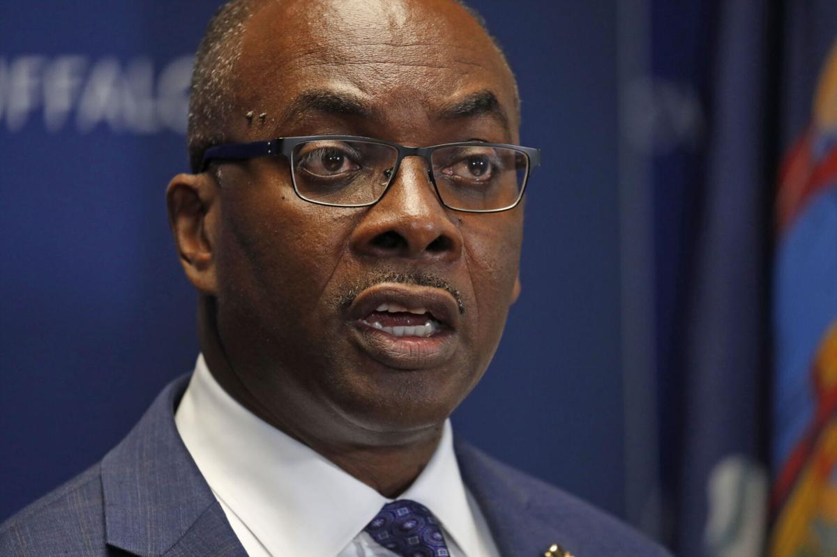 Buffalo Mayor Byron W. Brown