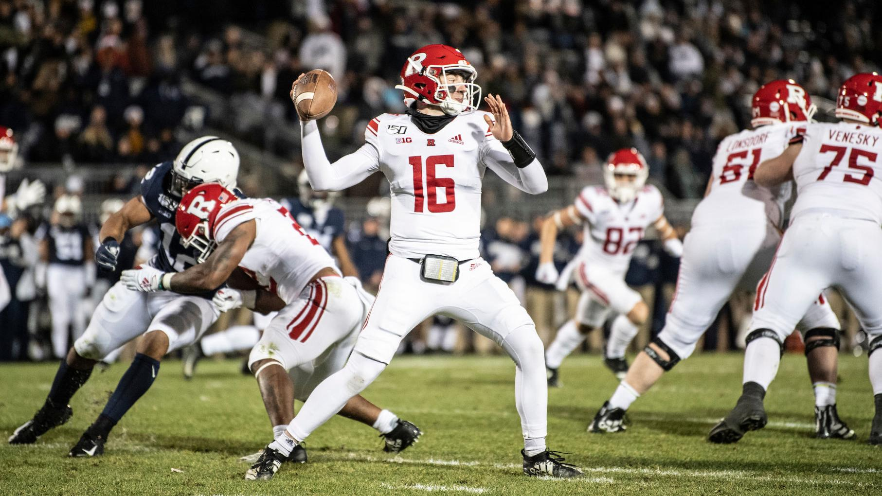 Cole Snyder Adapts After Rutgers Cancels Spring Football College Buffalonews Com