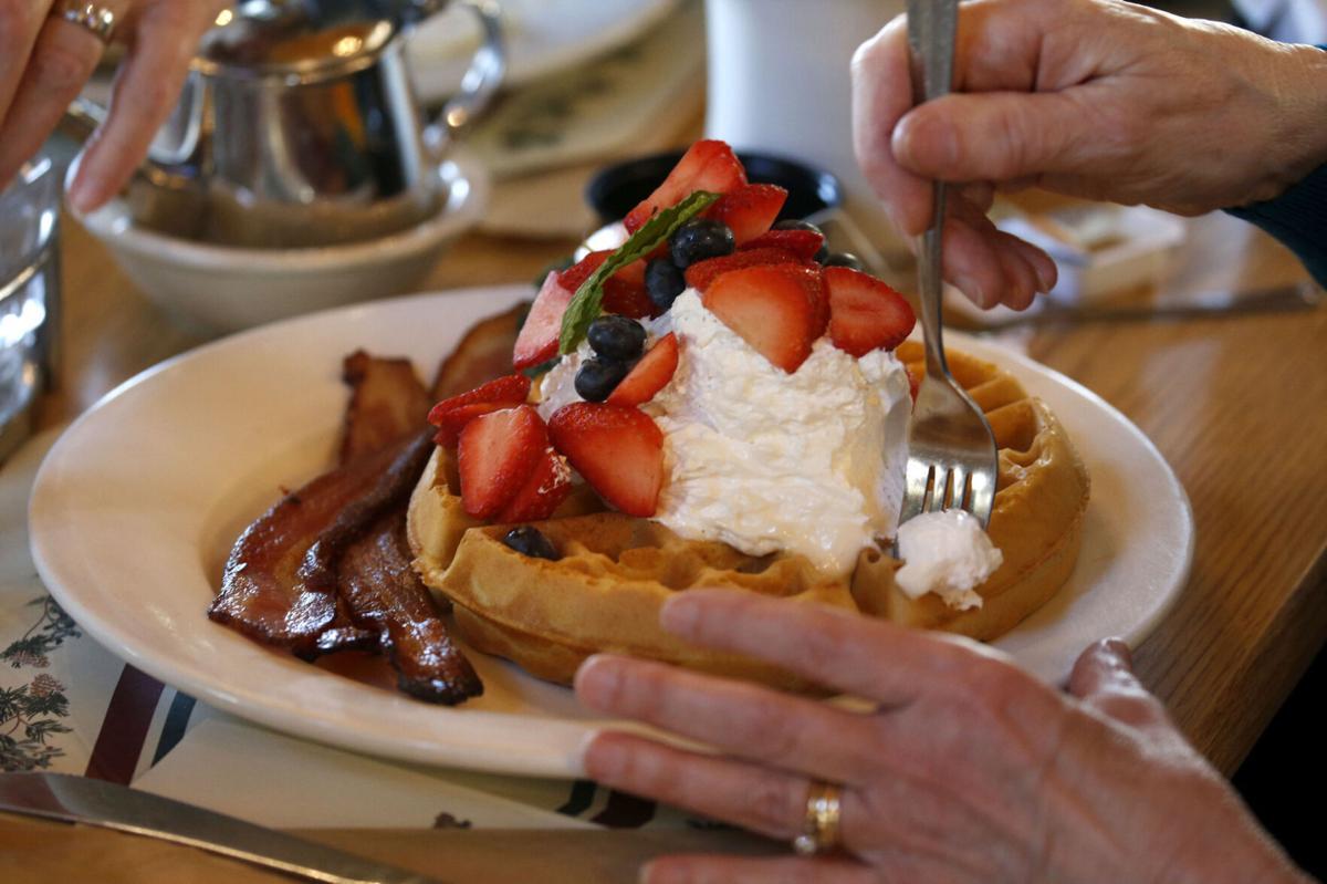 Sprague's Maple Farms in Portville (copy) waffles