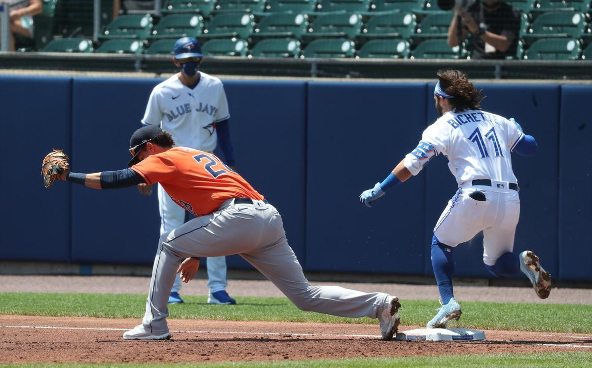 Toronto Blue Jays take on the Houston Astros in game three of a three game home stands