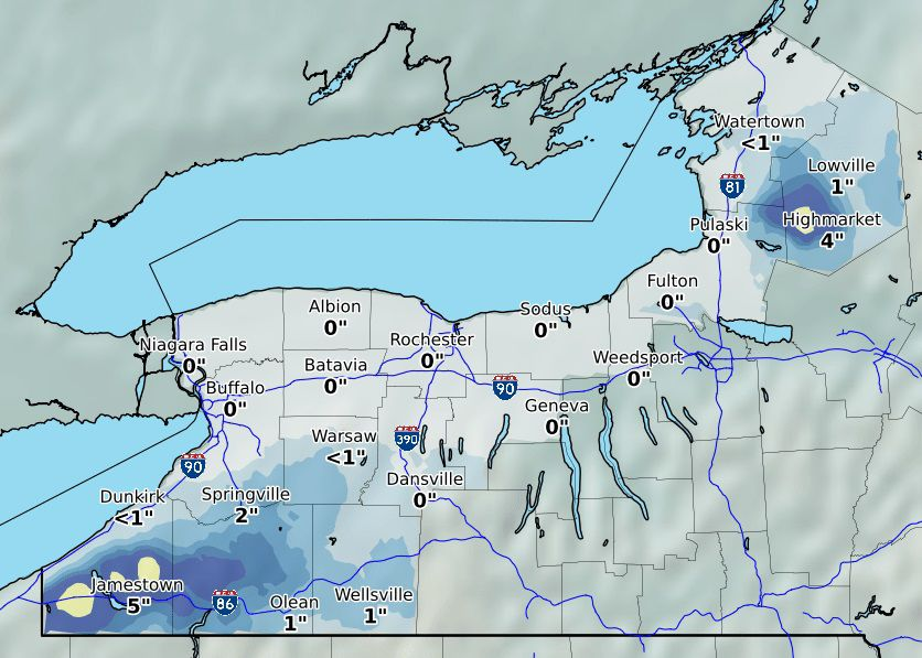 Lake Effect Bands Crank Up For High Terrain South Of Buffalo Local News Buffalonews Com