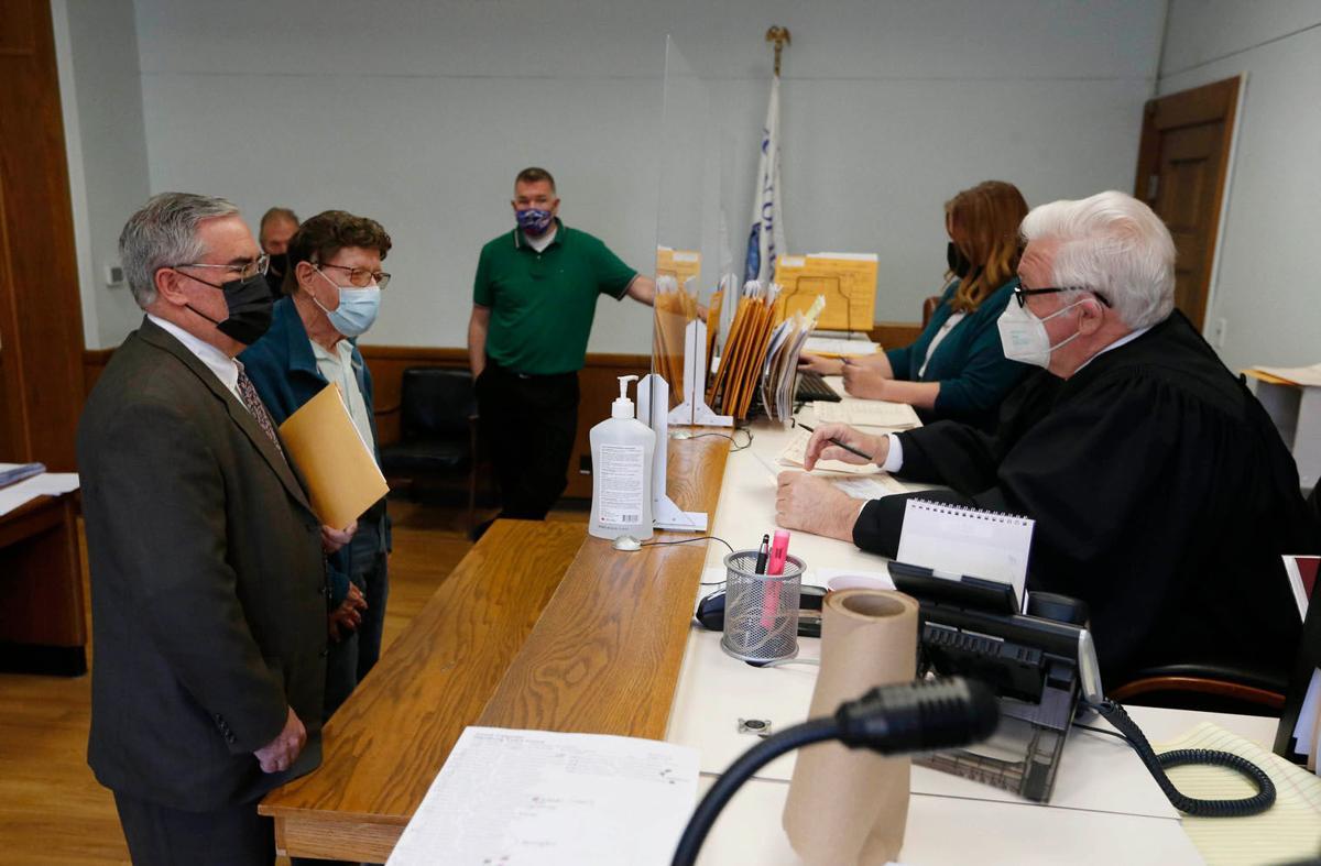 Larry Pope arraignment Hamburg court
