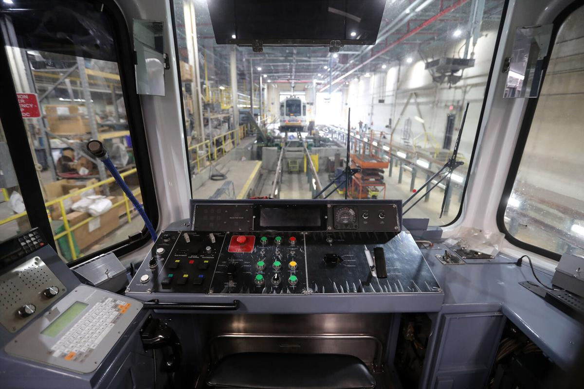 NFTA Rehabbed Railcar