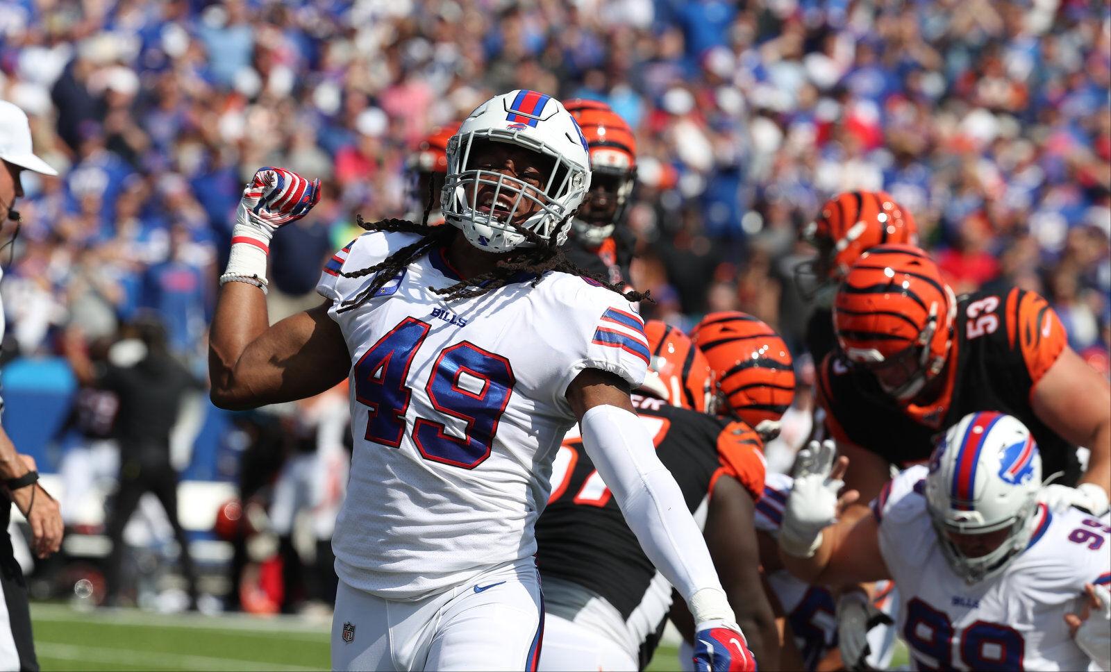 Bills' Tremaine Edmunds more noticeable vs. Patriots, but has ...