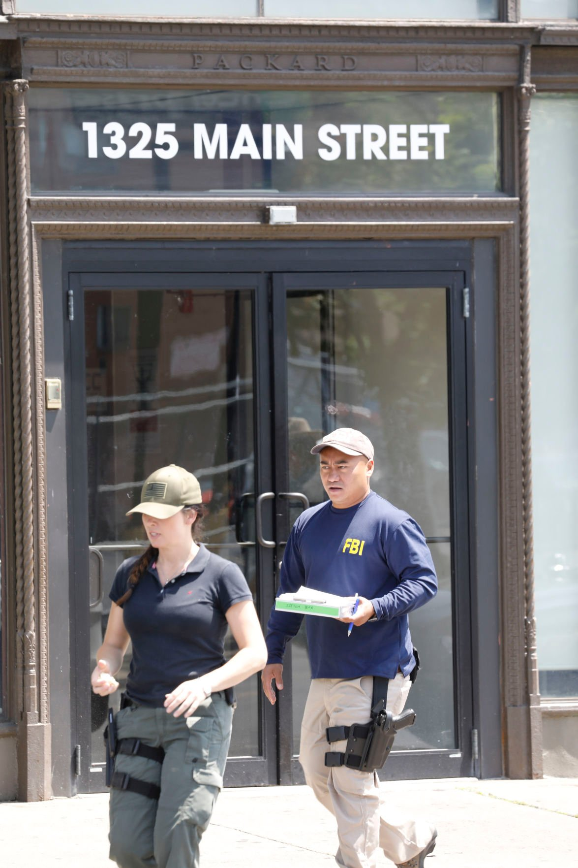 LOCAL FBI RAID GEE