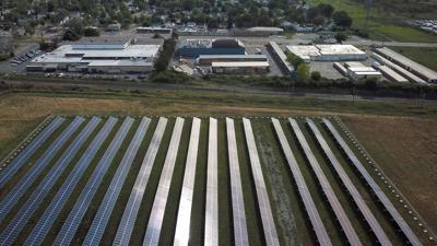 Solar array green energy