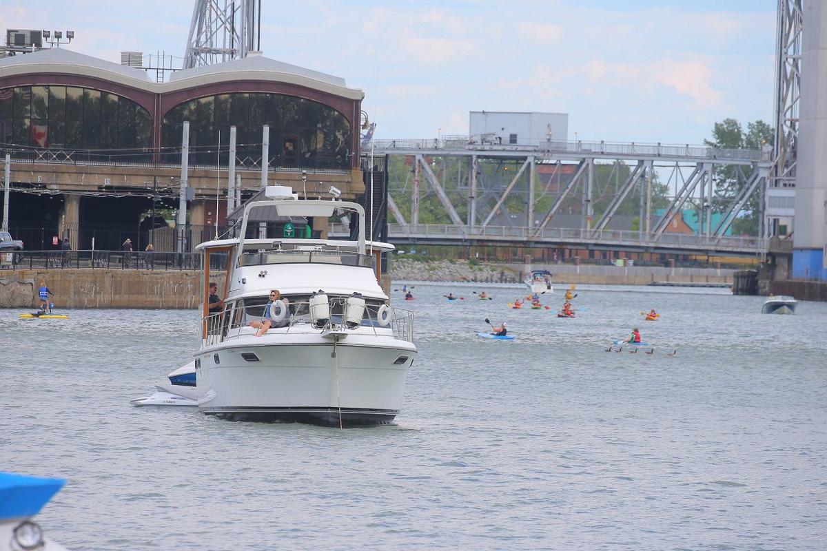 Buffalo River congestion