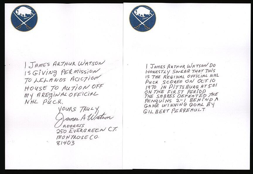 Jim Watson letter