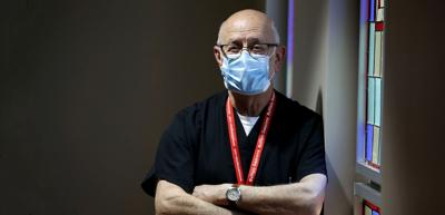 In a Covid hospital, chaplain finds hope, prayer and the intensity of love