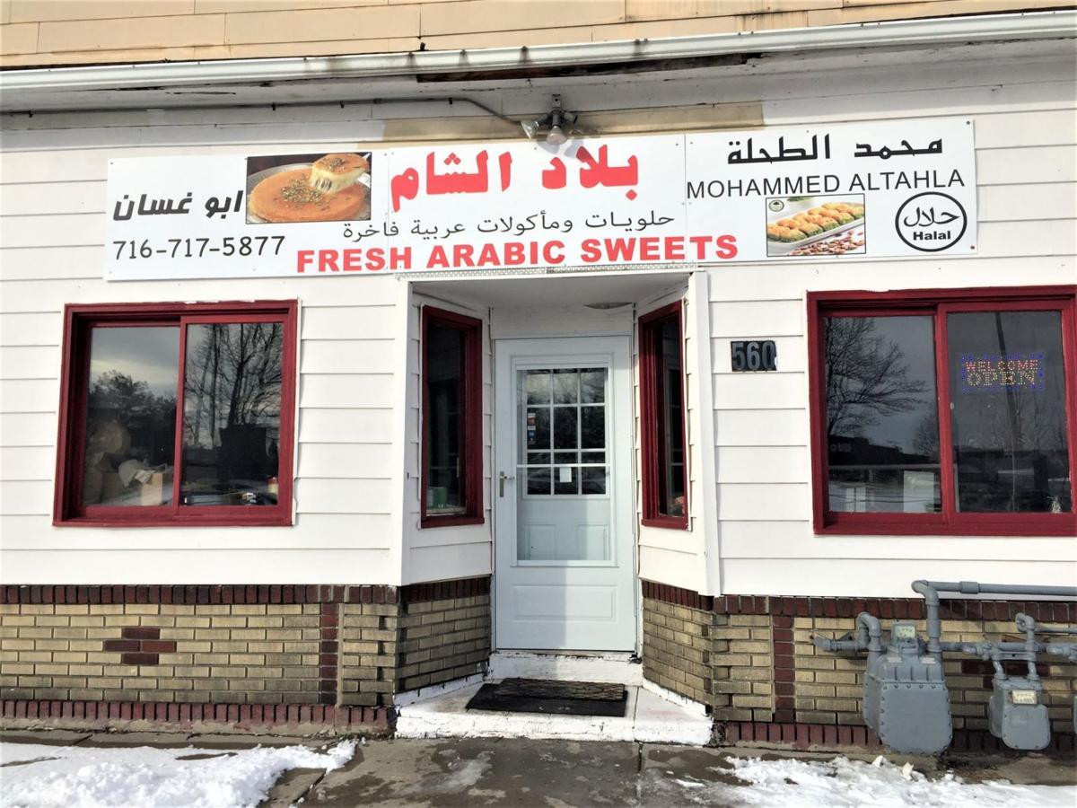 fresh arabic sweets facade