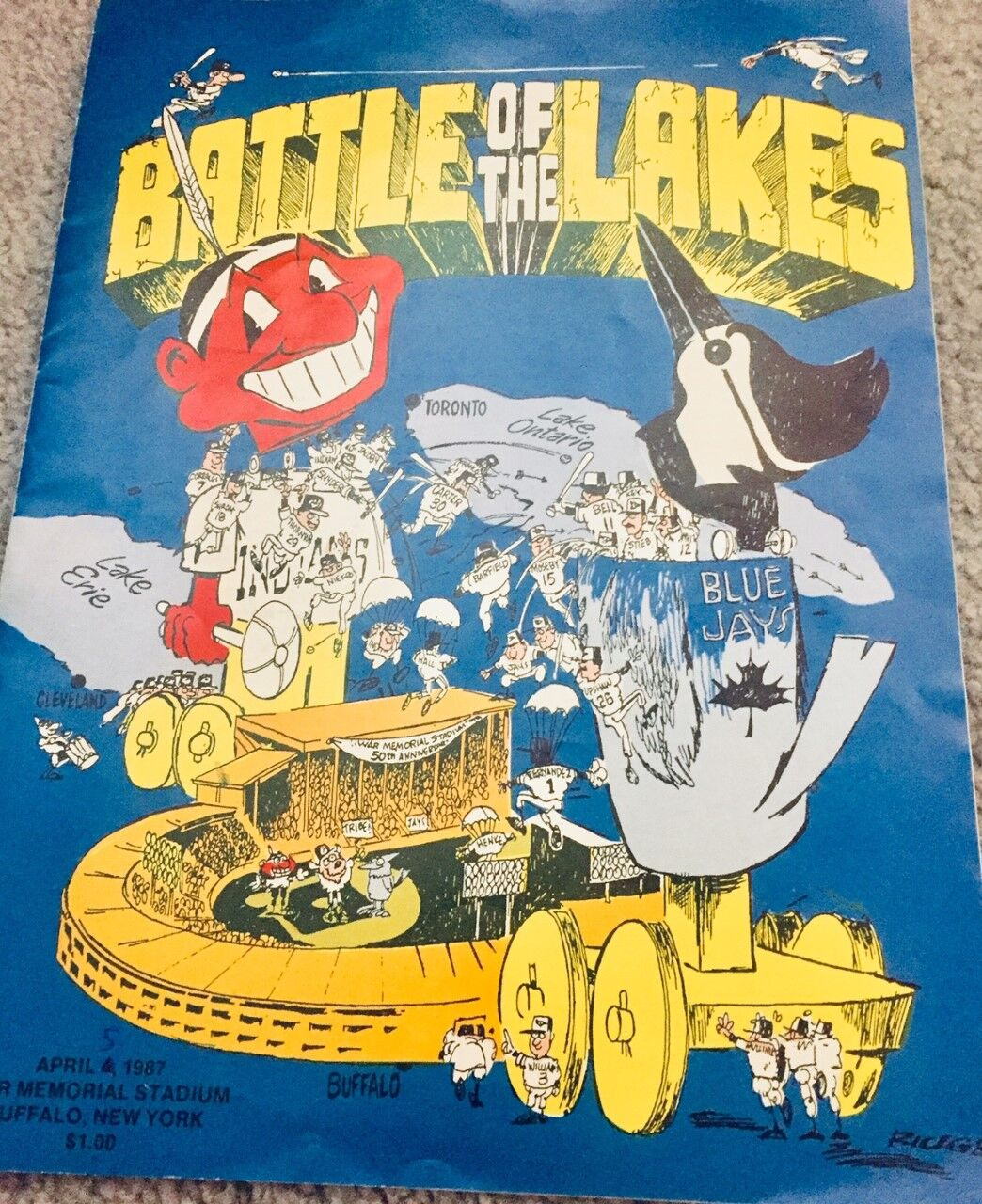 Battle of the Lakes program