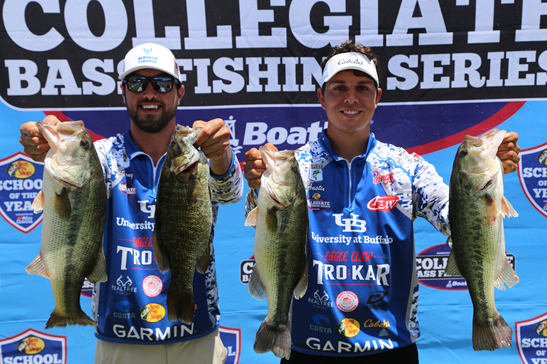 UB fishing club at nationals