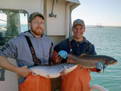 lake trout tagging