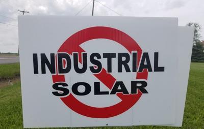 Solar yard sign