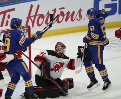 Buffalo Sabres 4, New Jersey Devils 3 in OT