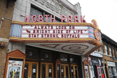 North Park marquee