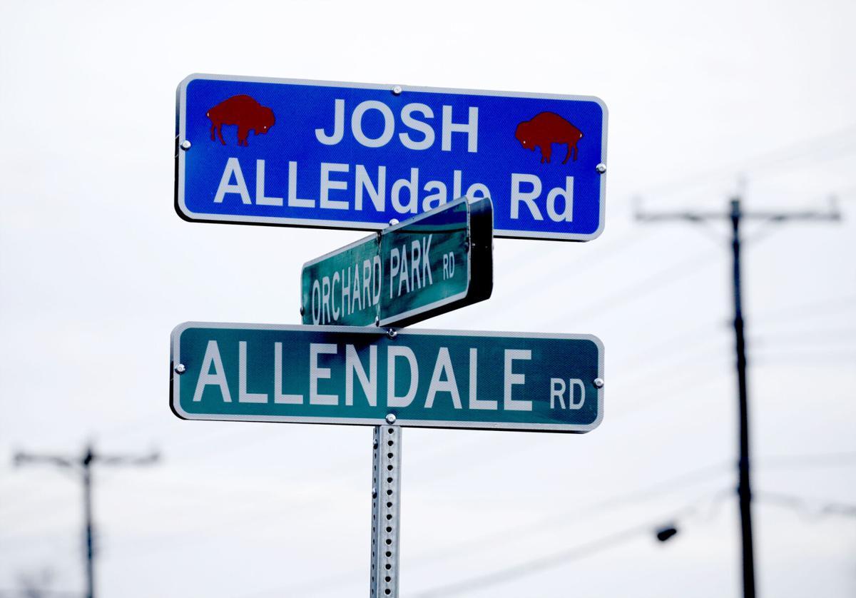 Josh Allen inspired signs