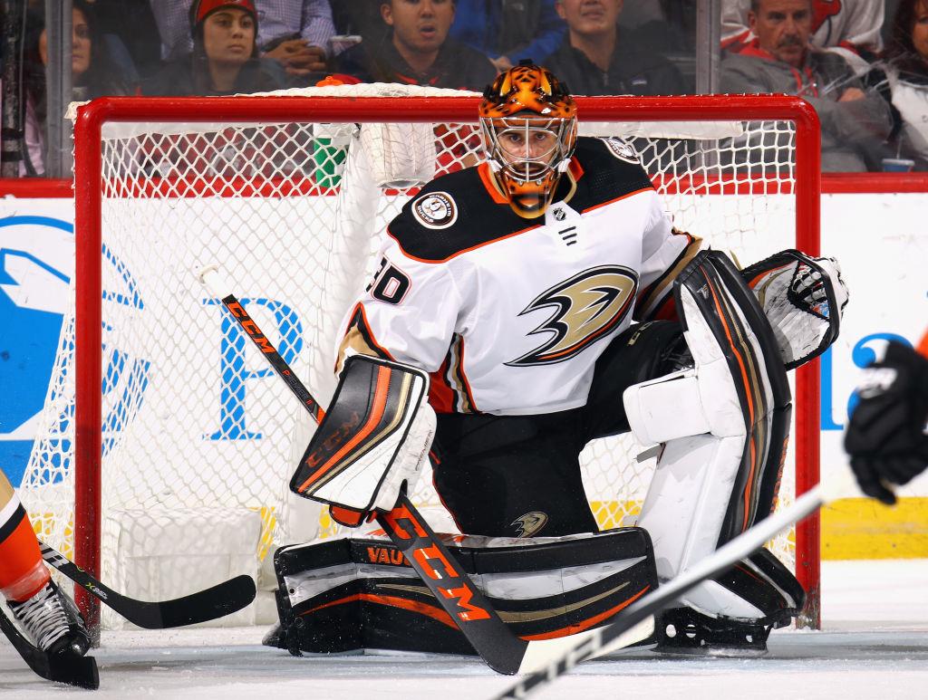 Anaheim Ducks v New Jersey Devils