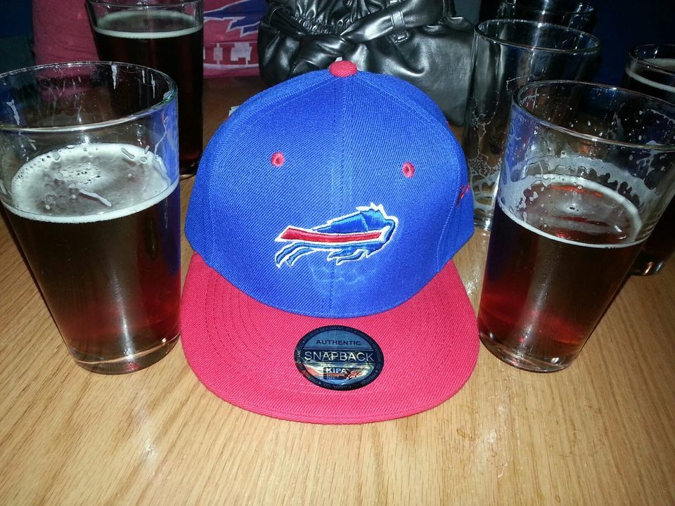 Game day beer Buffalo Bills