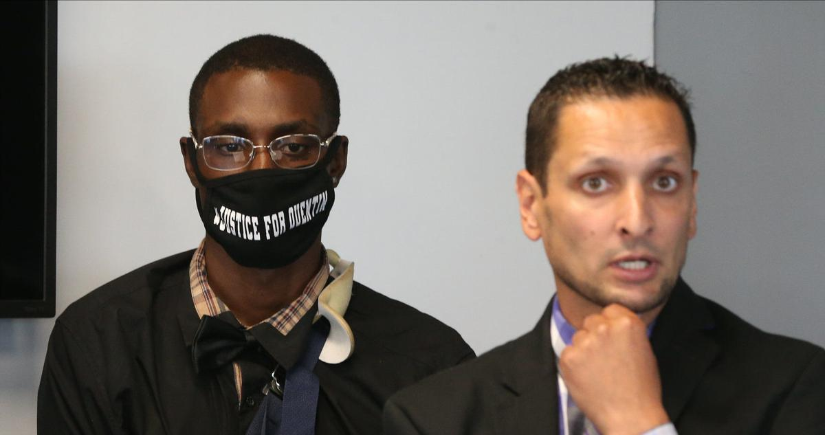 Quentin Suttles suing the police for violent arrest