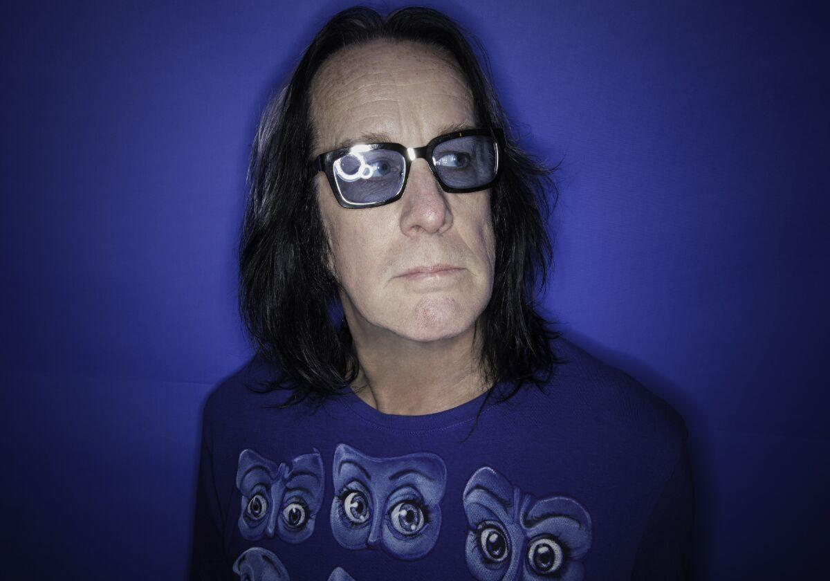 Todd Rundgren 2021 by Lynn Goldsmith