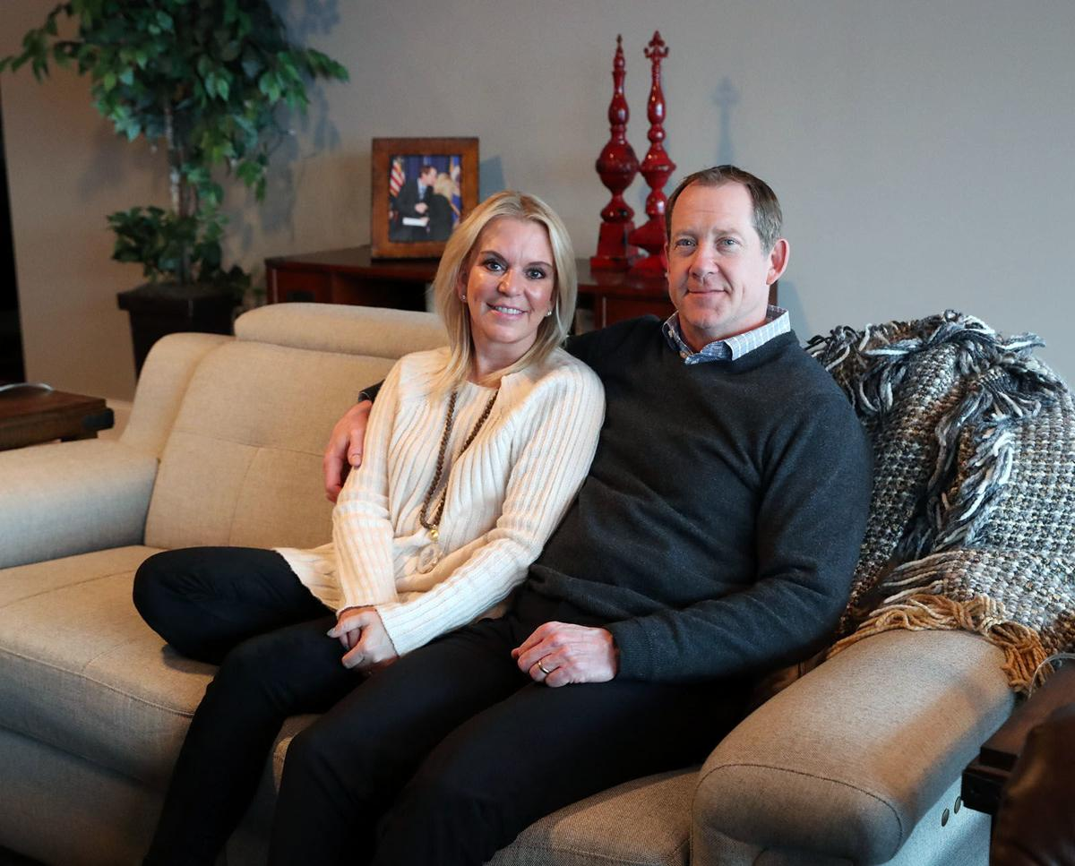 Karin Housley and Phil Housley