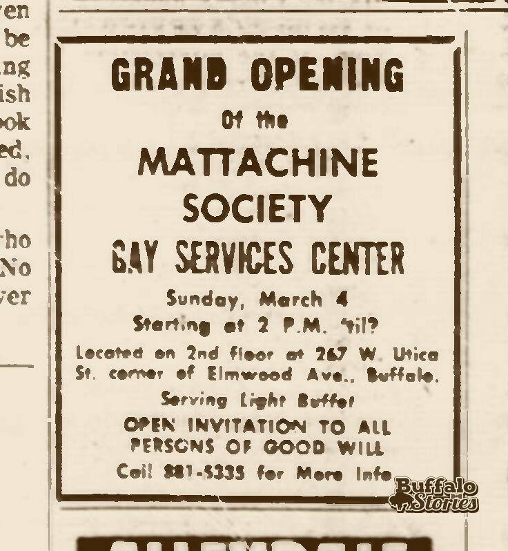 1973 gay services center ad