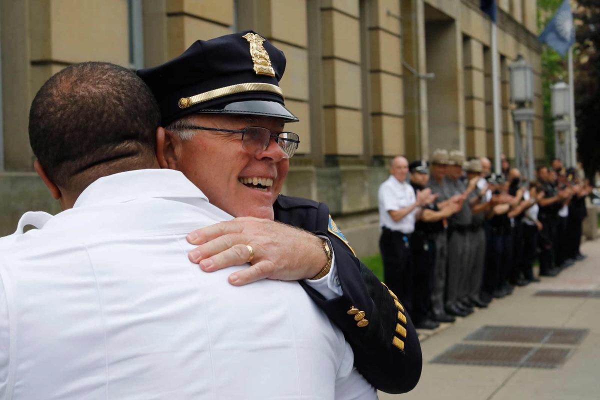 Chief Richards retires