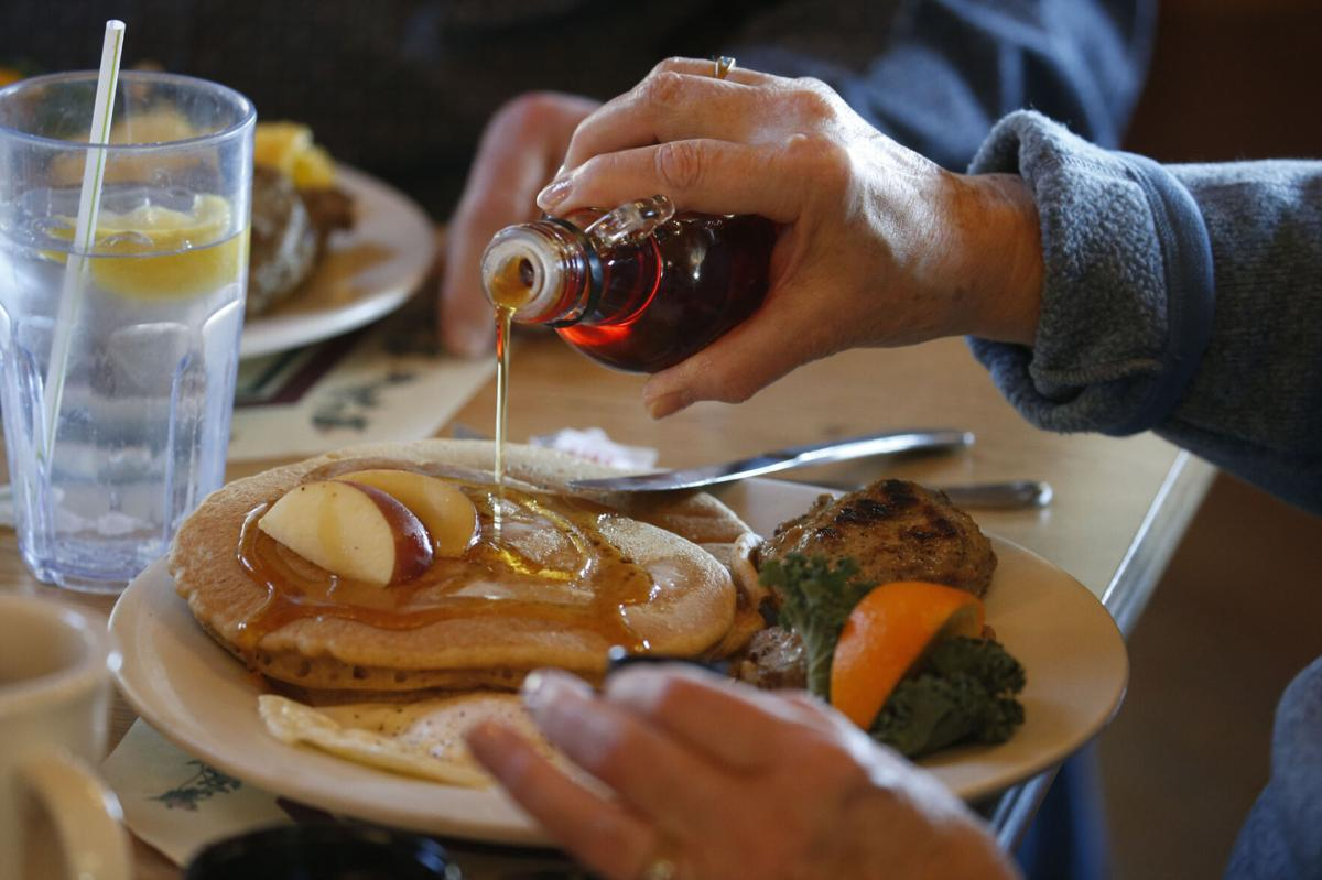 Sprague's Maple Farms in Portville (copy) pancakes and syrup