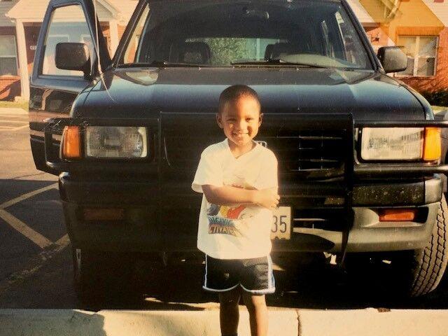 Reggie Gilliam kid