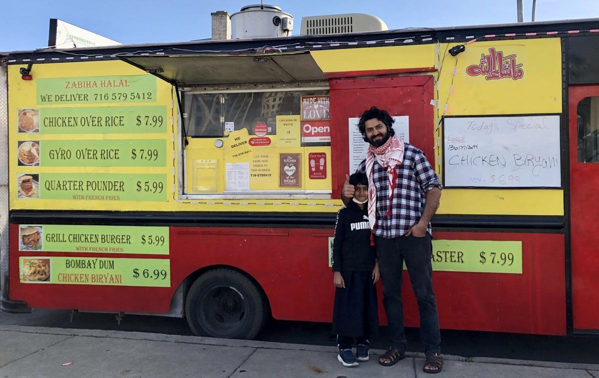 Holy Feast Food Truck Ali Shahid moved