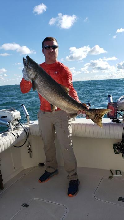 Dave Jarosz elma lake ontario wilson salmon