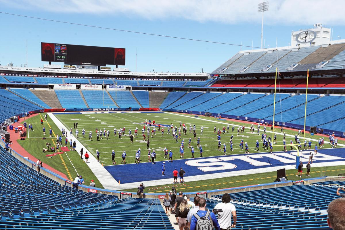 Buffalo Bills minicamp at Highmark Stadium (copy)