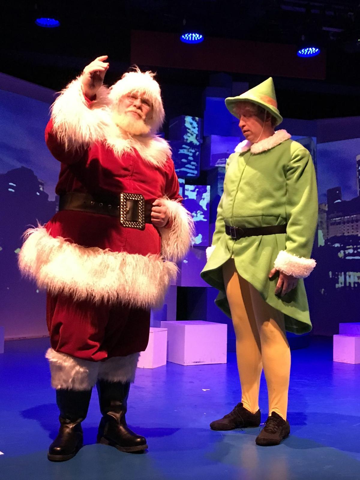 Musicalfare Elf Santa Buddy