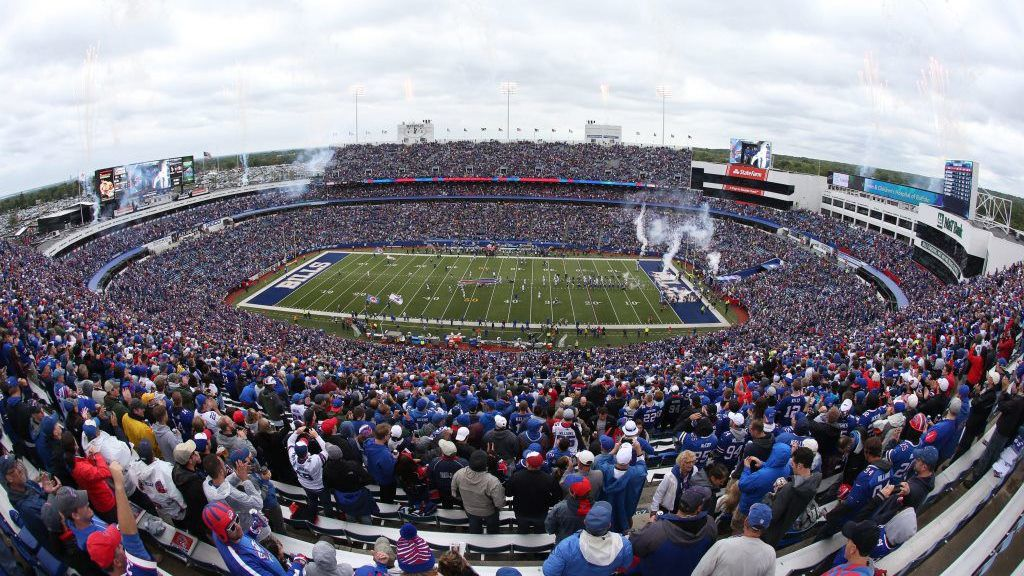 Bills Colts new era field
