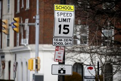 School zone speed limit Buffalo