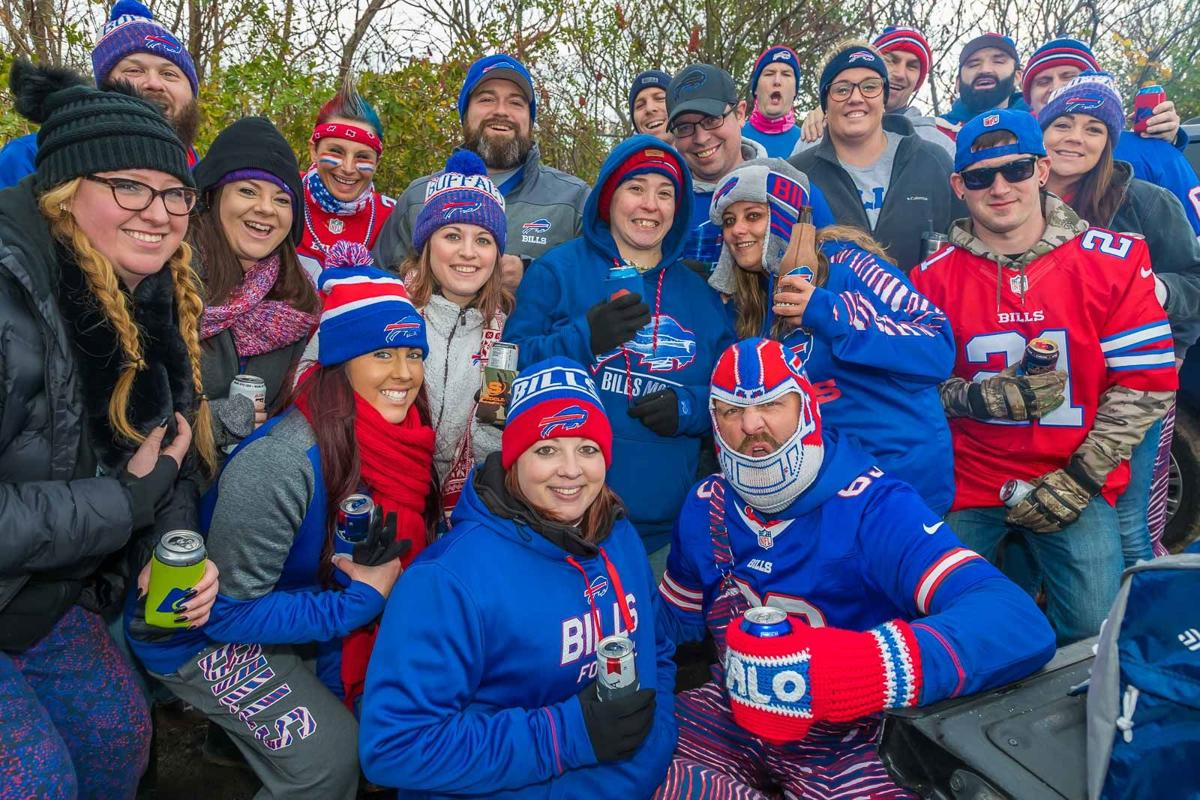 Smiles at Bills-Redskins tailgate at New Era Field