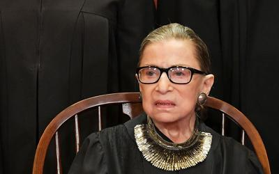 Ruth Bader Ginsburg  US-JUSTICE-SUPREME-COURT-GROUP-PHOTO
